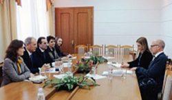 Ministerul Sănătăţii Republicii Moldova a fost apreciat de către misiunea de evaluare a Comisiei Europene pentru implementarea proiectelor în sănătate
