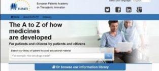 Instrument online pentru educarea pacienților în cercetarea și dezvoltarea medicamentelor