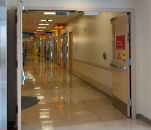 Compartiment modern de primire pacienți, la Institutul Fundeni