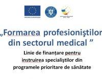 Bani europeni pentru formarea personalului din sănătate