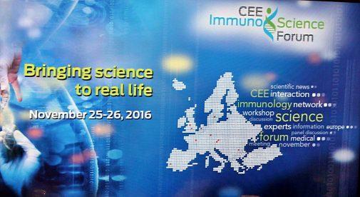 A început forumul de Imuno-Știință din Europa Centrală și de Est