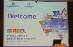 Cooperare româno- israeliană în domeniul sănătății