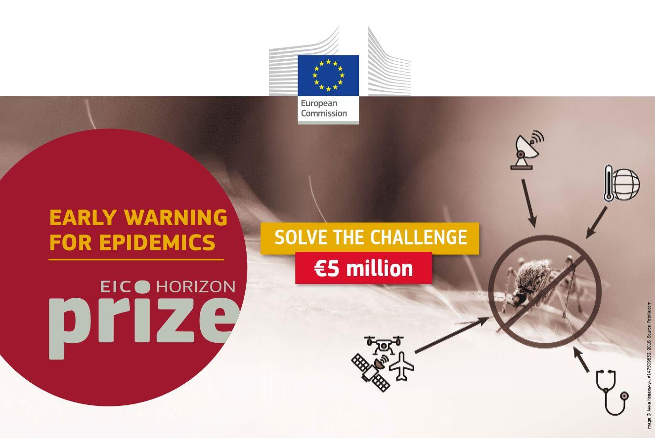 Early Warning for Epidemics – concurs cu premiu de 5 milioane de euro