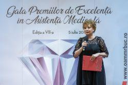 """Gala """"Premiile de Excelență în Asistența Medicală""""- ediția a VII-a"""