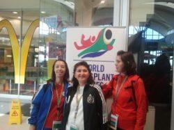 Echipa Asociației Transplantaților din România, câștigătoare a 4 medalii de aur și una de argint