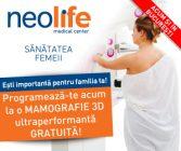 Campanie dedicată sănătăţii femeii