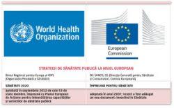 Strategii europene de sănătate publică – Situaţia actuală