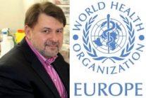 Conf dr. Alexandru Rafila reprezentant OMS pentru Europa
