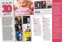 Un an de 10 pentru POLITICI DE SANATATE