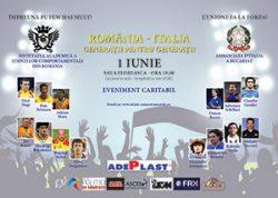 Generația de aur a fotbalului românesc joacă pentru copii, de ziua lor