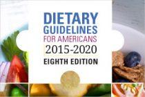 Noul ghid dietetic din SUA încurajează obiceiurile alimentare sănătoase