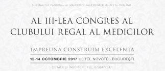Clubul Regal al Medicilor: înscrierile continuă în timpul Congresului