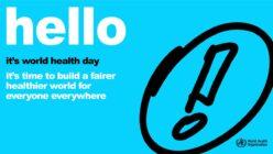 Ziua Mondială a Sănătății 2021 –  pentru o lume mai echitabilă și mai sănătoasă
