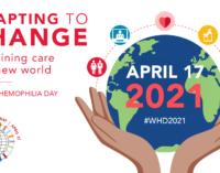 """Ziua Mondială a Hemofiliei: """"Adaptarea la schimbare: îngrijirea durabilă într-o lume nouă"""""""